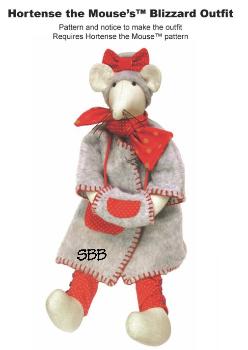 14 Days A Week Hortense The Mouse's Blizzard Outfit