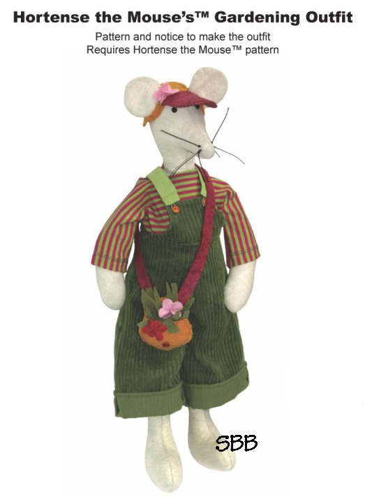 14 Days A Week Hortense The Mouse's Gardening Outfit