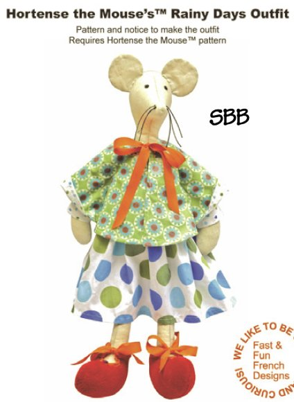 14 Days A Week Hortense The Mouse's Rainy Days Outfit
