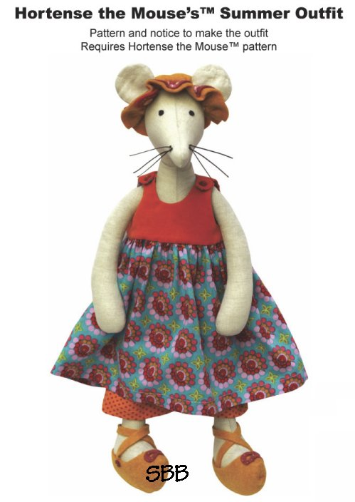 14 Days A Week Hortense The Mouse's Summer Outfit