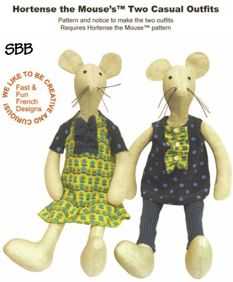 14 Days A Week Hortense The Mouse's Two Casual Outfits