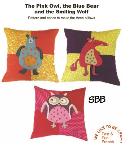 14 Days A Week The Pink Owl, The Blue Bear & The Smiling Wolf