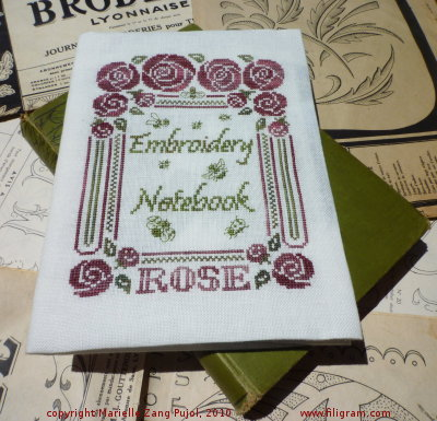 Clearance Filigram A26 Embroidery, Garden, Recipe, Knitting... Notebook