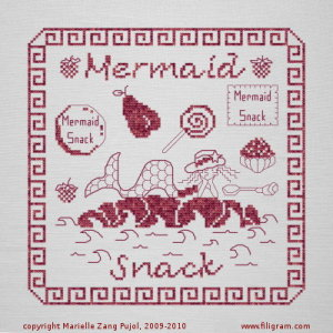 Clearance Filigram A27 Mermaid Snack