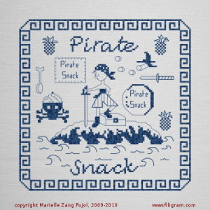 Clearance Filigram A29 Pirate Snack