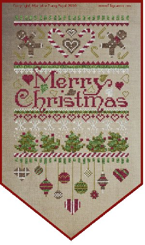 Clearance Filigram A33 Merry Christmas Banner