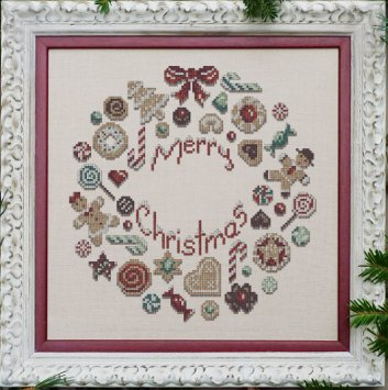 Clearance Filigram A73 Cookies Christmas Wreath