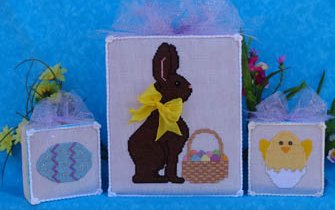 Faithwurks Chocolate Bunny & Eggs-cellent Companions