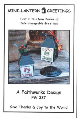 Faithwurks Mini Lantern Greetings BK 1