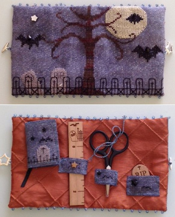 Fern Ridge Collections Bats All Folks! Needle Case