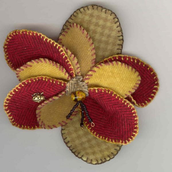 Fern Ridge Collections Bloomin' Wool Pin