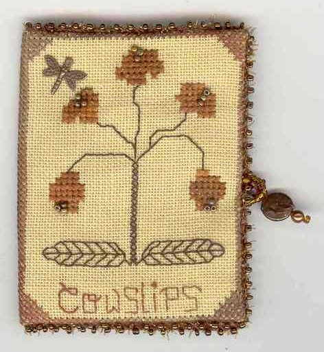 Fern Ridge Collections Copper Cowslips Needle Case