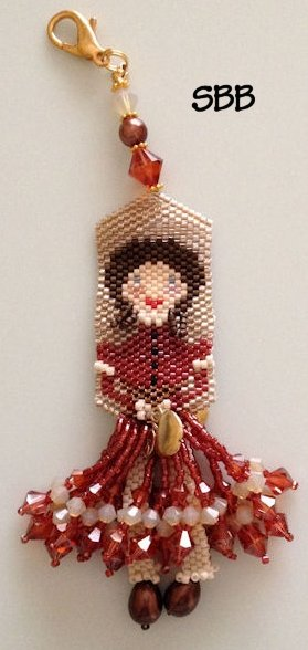 Fern Ridge Collections Felicity Rose Fob