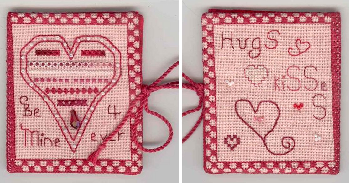 Fern Ridge Collections Heart To Heart Needle Case