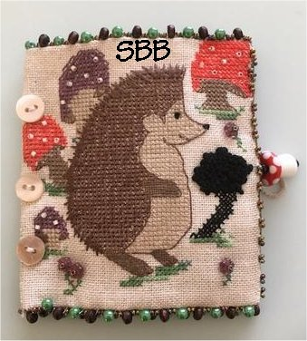 Fern Ridge Collections Herman Hedgehog Needlebook
