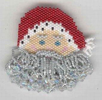 Fern Ridge Collections JoJo's Santa Pin