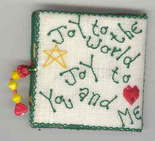 Fern Ridge Collections Joy To You & Me Needle Book