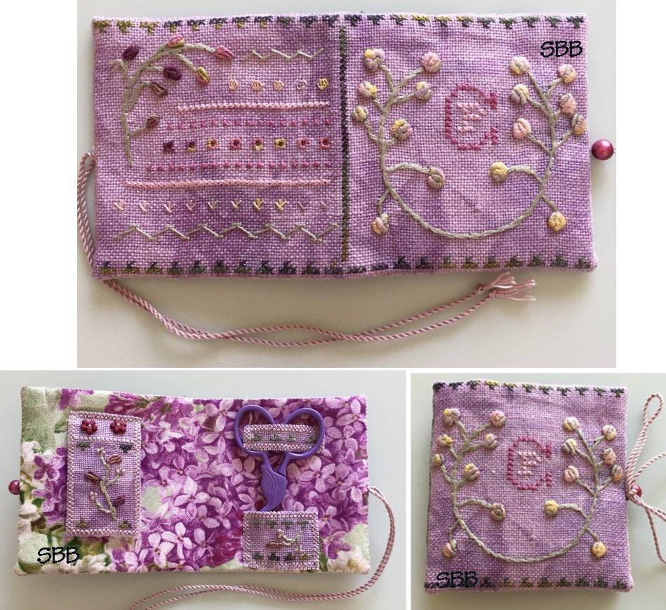 Fern Ridge Collections La La Lavender Needle Case