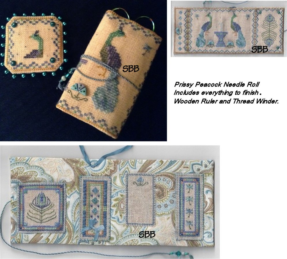 Fern Ridge CollectionsPrissy Peacock Needle Roll