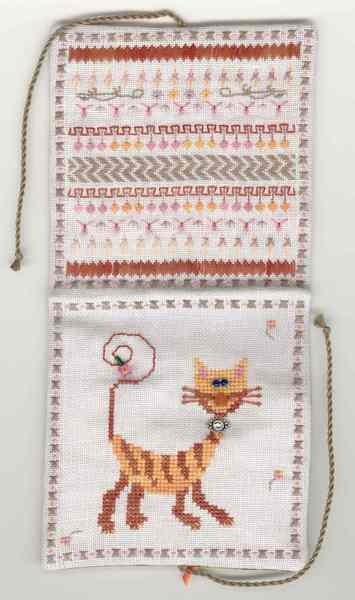 Fern Ridge Collections Sneaky Kitty Sewing Case