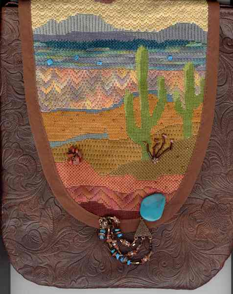 Fern Ridge Collections Sonora Purse Needlepoint