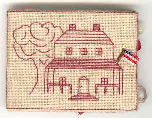 Fern Ridge Collections Strong & Free Needle Book