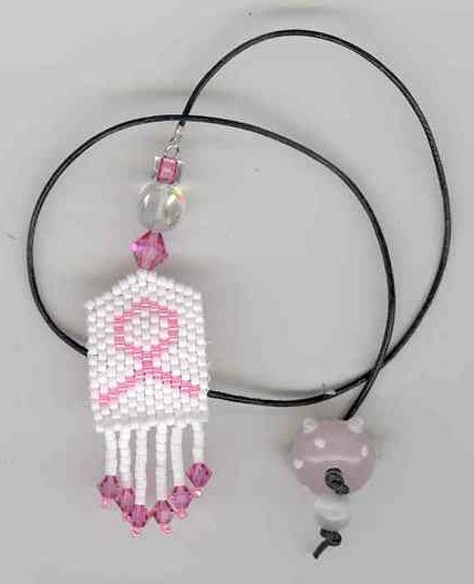 Fern Ridge Collections The Pink Ribbon Bookmark