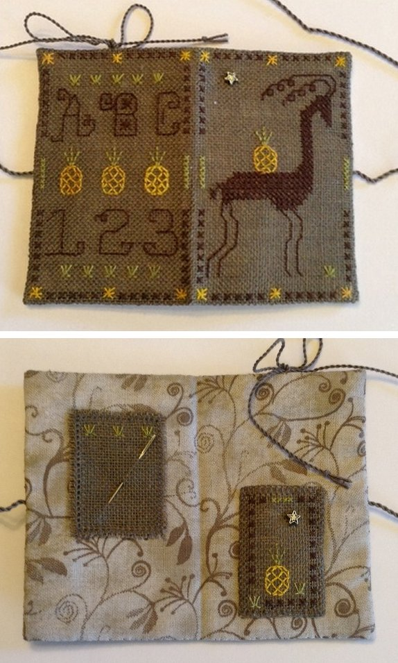 Fern Ridge Collections Welcome Back Needle Book