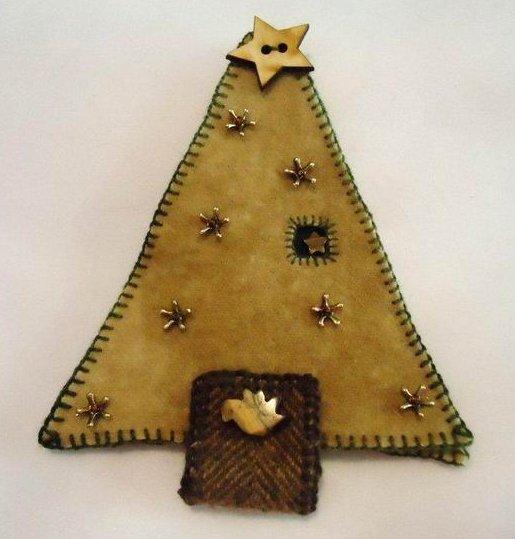 Fern Ridge Collections Wool Christmas Tree