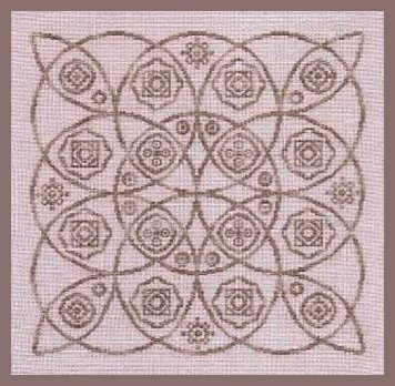 Freda's Fancy Stitching Round & Round