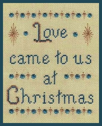 Freda's Fancy Stitching The Gift Of Love