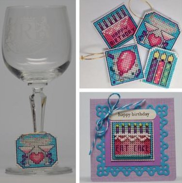 Frony Ritter Designs Birthday Wine Charms Kit