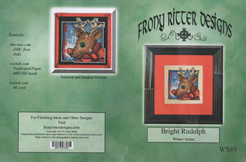 Frony Ritter Designs Bright Rudolph