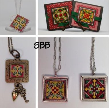 Frony Ritter Designs Celtic Cross Wine Charms Kit