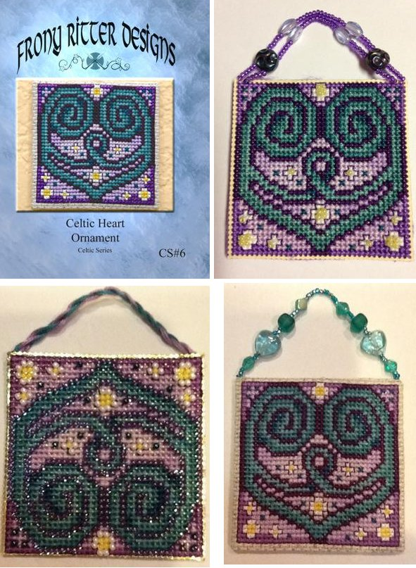 Frony Ritter Designs Celtic Heart Ornament
