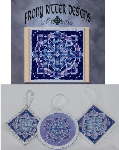 Frony Ritter Designs Celtic Snowflake
