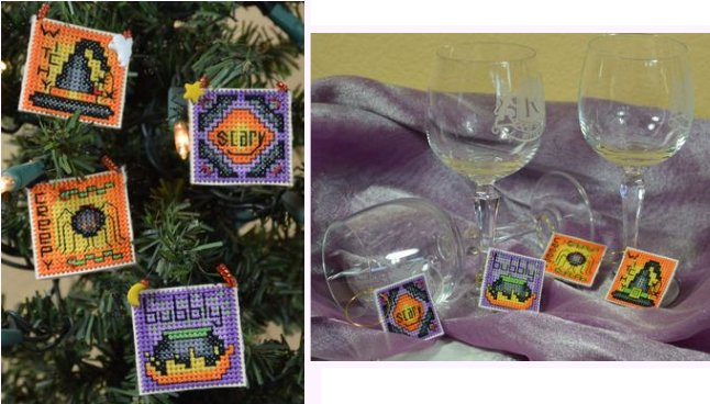 Frony Ritter Designs Halloween Wine Charms Kit