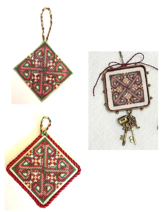 Frony Ritter Designs Missal Of Leofric Cross Ornament