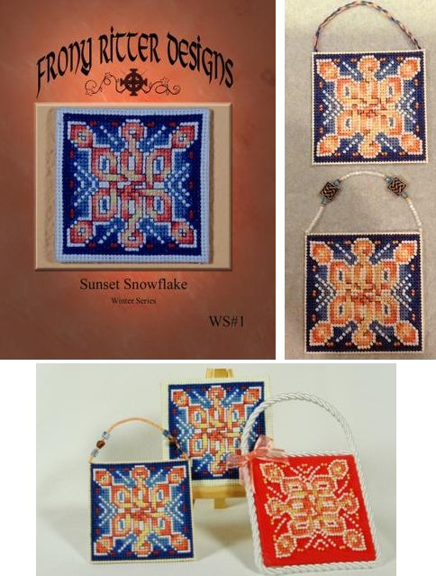 Frony Ritter Designs Sunset Snowflake