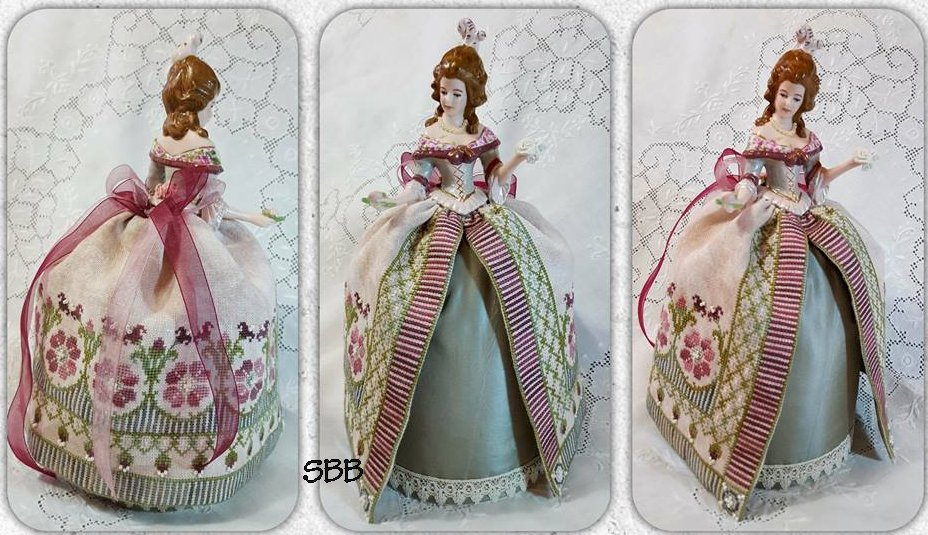 Clearance Giulia Punti Antichi Maria Teresa Pincushion Doll