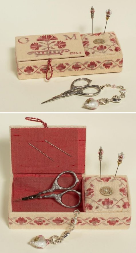 Clearance Giulia Punti Antichi Rose Carnation ~ Romina's Sewing Box