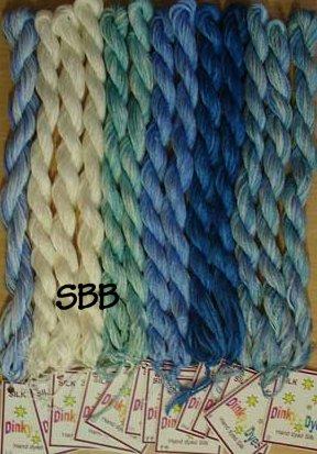 Glendon Place Baked Alaska Dinky~Dyes Silk Pack