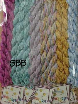 Glendon Place Rainbow Parfait Dinky~Dyes Silk Pack