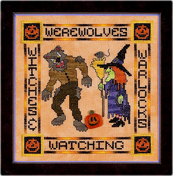 Glendon Place GP159 Werewolves, Witches & Warlocks