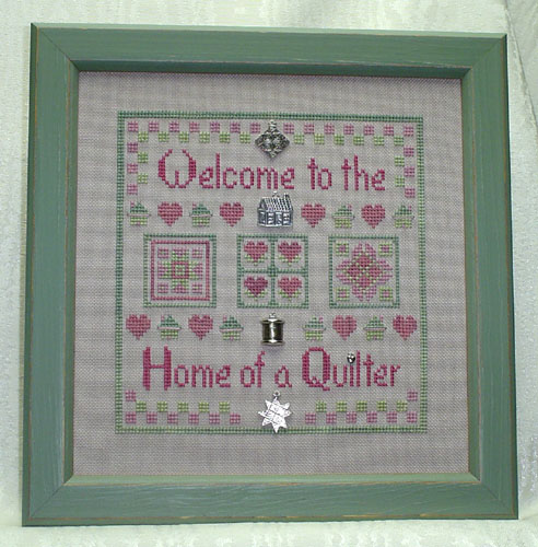 Clearance Handblessings Welcome To The Home Of A Quilter