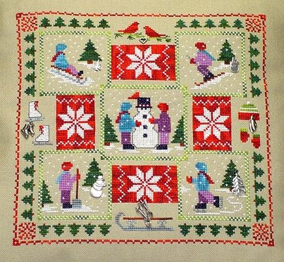Clearance Handblessings Winter Quilt