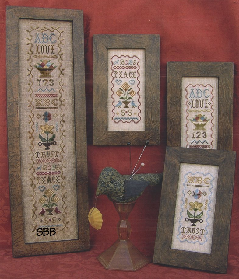 Clearance Homespun Elegance LTD  Miniature Samplers VIII