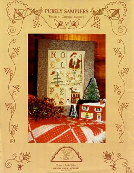 Clearance Homespun Elegance LTD  Patches Of Christmas Sampler I
