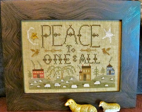 Clearance Homespun Elegance LTD  Peace To One And All ~ Summer Landscape