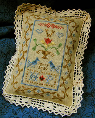 Clearance Homespun Elegance LTD  Petite Wedding Sampler